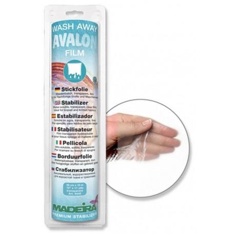 Avalon Stickfolie Wasserlöslich 30cm x 10m