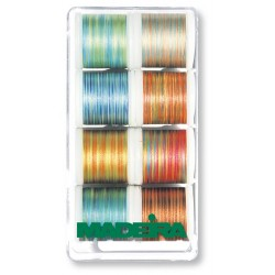 8er Garnbox Polyneon Multicolor