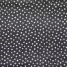 Regenjackenstoff Rainy Dots schwarz