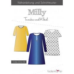 PAPIERSCHNITTMUSTER MILLY Kleid Tunika