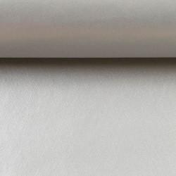 Kunstleder Lederimitat Charlie matt metallic silbergrau