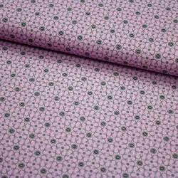 Stoff Baumwolle Sew Love - Schere Knopf grau