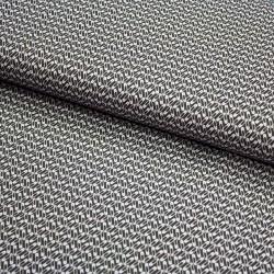 Stoff Baumwolle Sew Love - Sicherheitsnadeln grau
