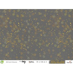 BIO Modal Sweat Stoff Glitzerkonfetti - Lillestoff