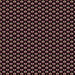 beschichtete Baumwolle Joy Fully schwarz